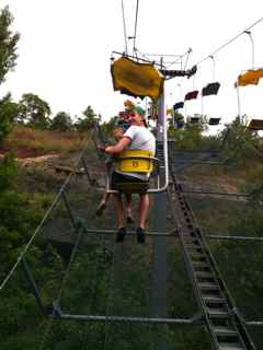 chairlift prague zoo