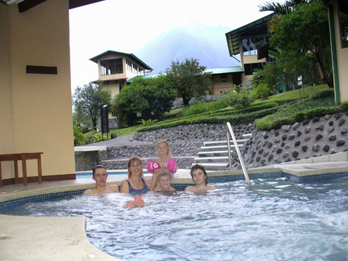 pool in Arenal hotel